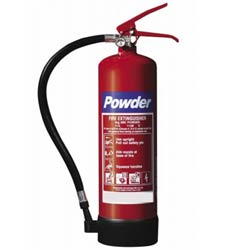 4kg Budget Dry Powder Fire Extinguisher